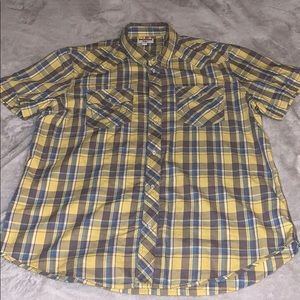 Men's True Religion button up shirt